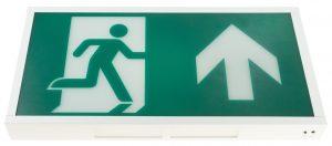 emergency led exit box